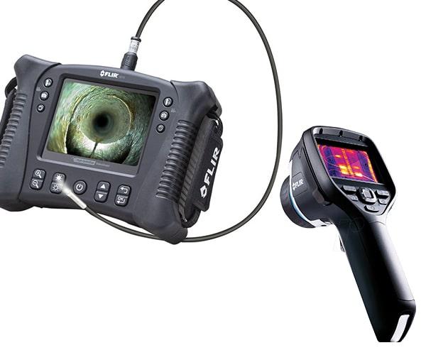 Technik für Lauschabwehr und Abhörschutz Eisnatz, Wärmebildkamera
